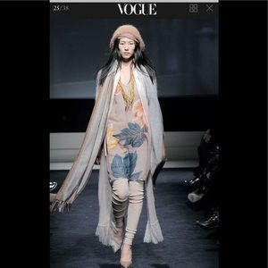 Missoni runway silk dress. Fall 2009 ready-to-wear